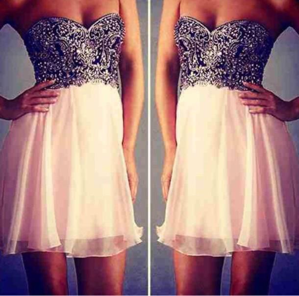 dress sparkly dress