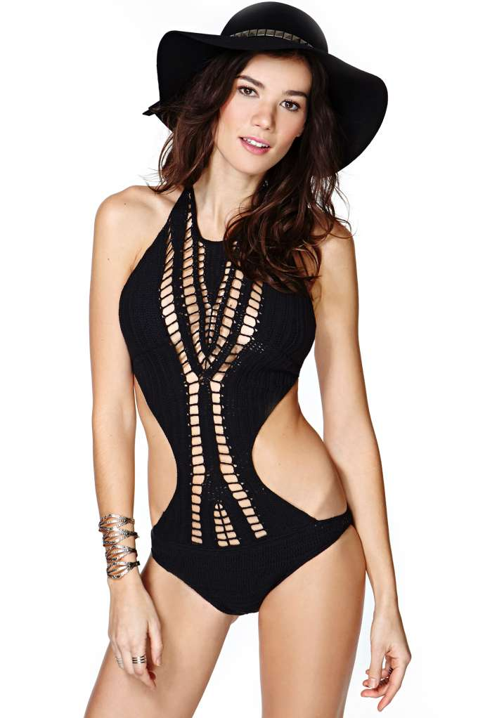 Lisa Maree Night Sea Swimsuit | Shop Swimwear at Nasty Gal