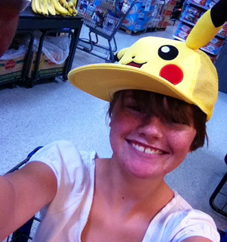 hair accessories pokemon cap