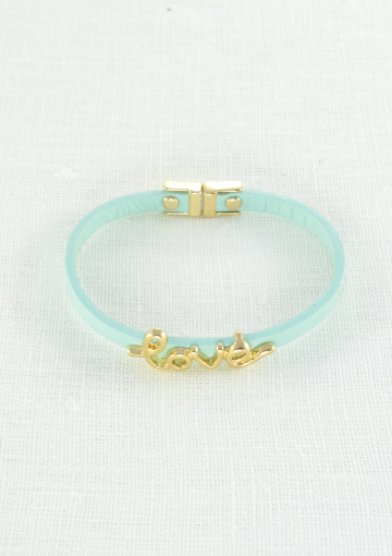 Love Statement Mint Bracelet - Happiness Boutique