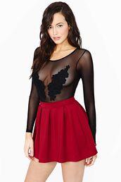 underwear,mesh,bodysuit,mesh bodysuit,body,black bodysuit,floral,lace panel,transparent
