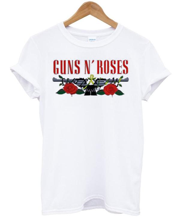Guns N Roses Logo T shirt - Basic tees shop