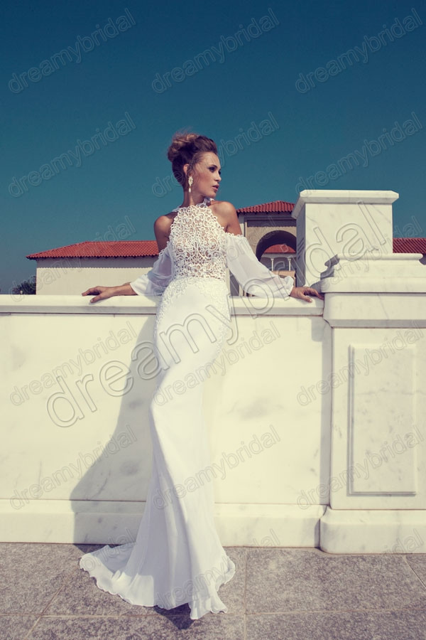 Aliexpress.com : Buy Wholesale Vestidos de noiva 2013 CT1003 Elegant Two Pieces Sweetheart white Organza ruffled Flower A line Wedding Dress Gowns from Reliable dress tropical suppliers on Suzhou dreamybridal Co.,LTD