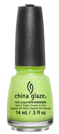 China Glaze | All Color: Grass Is Lime Greener