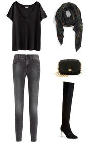krystal schlegel,blogger,scarf,bag,shoes,jeans,t-shirt