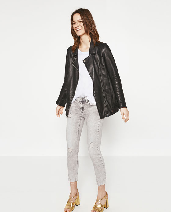 MID - RISE STRAIGHT CUT JEANS-JEANS-WOMAN-SALE | ZARA United States