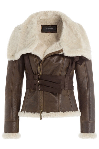 jacket leather jacket leather brown
