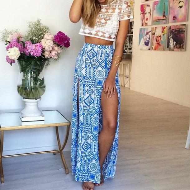 split skirt