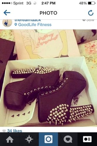 shoes spikes spiked shoes high heels black handbag