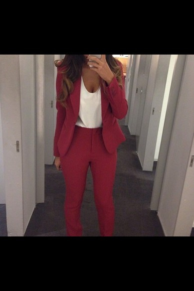 pants red pants classy, pants, high waisted rich fashion amazing black elegant