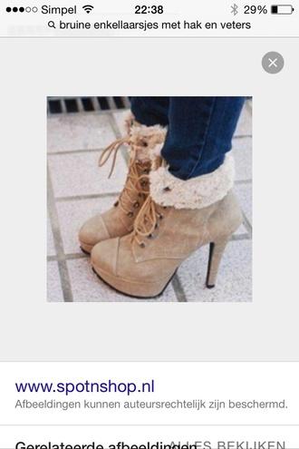 shoes heels brown