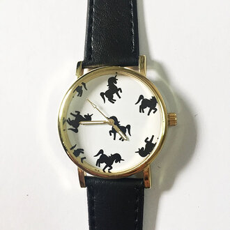 jewels watch handmade style fashion vintage etsy freeforme summer spring new gift ideas unicorn animal magical