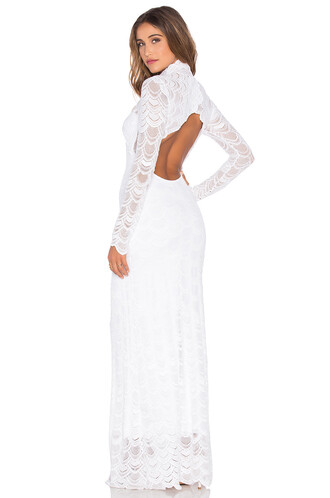 gown classic victorian lace white dress