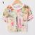 Women Floral Crop T Shirt Flower Number Short Sleeve Crew Neck Tee Top Fashion | eBay