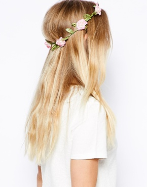 Orelia | Orelia Festival Flower Hair Garland at ASOS
