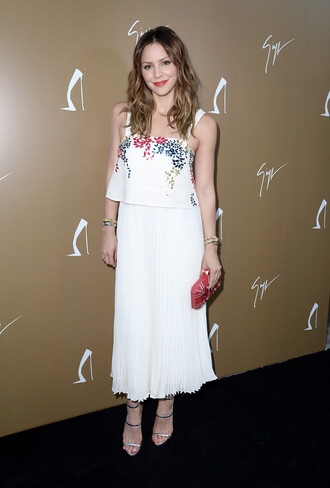 dress spring outfits katherine mcphee white dress maxi dress