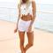 Sabo skirt  madison flower tank - off white - 48.0000