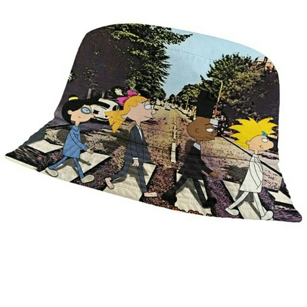 bucket hat bucket hat chinese cartoon multicolor