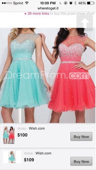 sequin dress teal dress sheer dress