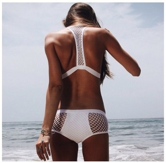 swimwear white mesh style cute hip hipster sun sunshine water ocean swimming skimpy boho new one piece one piece swimsuit cool mexico cancun summer swimmer style dope swimwear white swimwear swimwear swimsuits lace cut-out swimsuit summer outfits