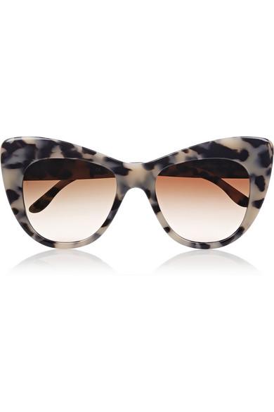 Stella McCartney | Tortoiseshell cat eye acetate sunglasses | NET-A-PORTER.COM