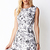 Garden Chic A-Line Dress | LOVE21 - 2040495227