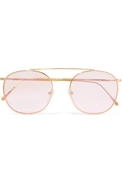 Illesteva sunglasses gold pink