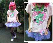 romper,hoodie,short sleeves hoodie,short sleeves t shirts,fairy kei,kawaii,kawaii grunge,kawaii punk,kawaii pastel,pastel,pastel pink,pastel punk,pastel purple,lilac,t-shirt,top,pink hoodie,lilac hoodie,cupid,bear,cute,graphic tee,harajuku,tumblr,storenvy,tumblr outfit,cute top,lilac top,dejavucat,soft grunge