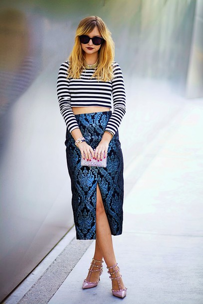 late afternoon skirt t-shirt shoes sunglasses jewels