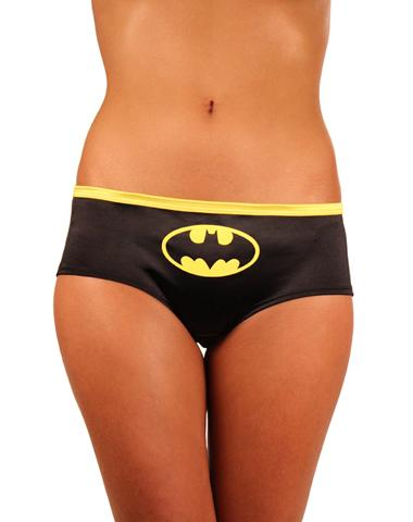 Batman Adult Satin Panties