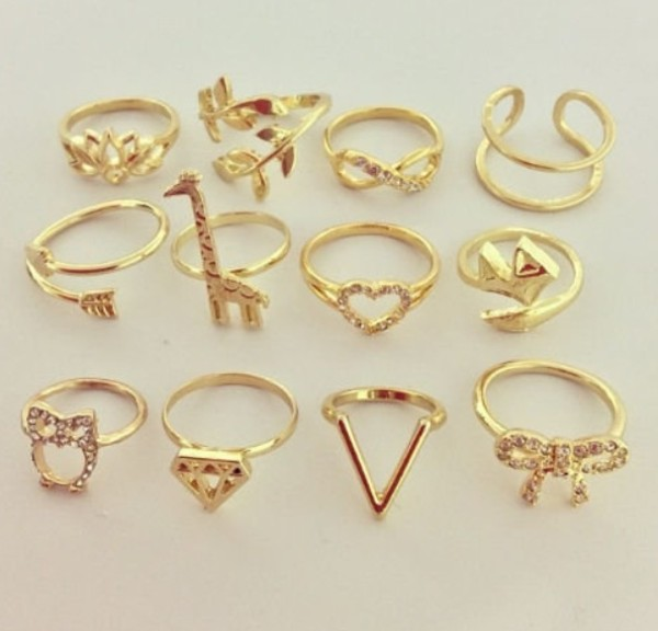 jewels ring ring rings and tings jewelry gold gold ring