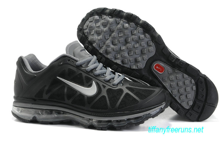 Mens Nike Air Max 2011 Anthracite/Cool Grey/Silver Sneakers [Tiffany Free Runs 073]-$56.98 Tiffanyfreeruns.net