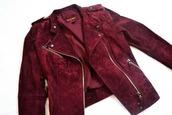 jacket,burgundy,suede,suede jacket,bordeau,mango,red jacket