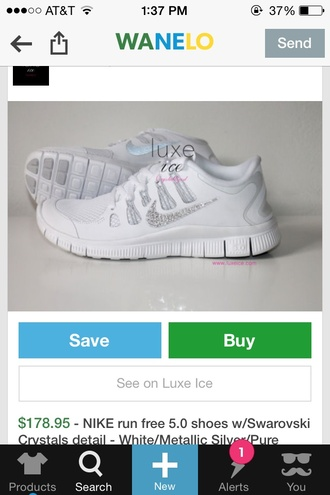 nike free run nike free run 5.0 all white everything running women's size 8 8.5 nike all the way