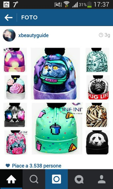 hat cute colorful colorful instagram
