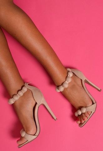 shoes heels heel love beige beige heels