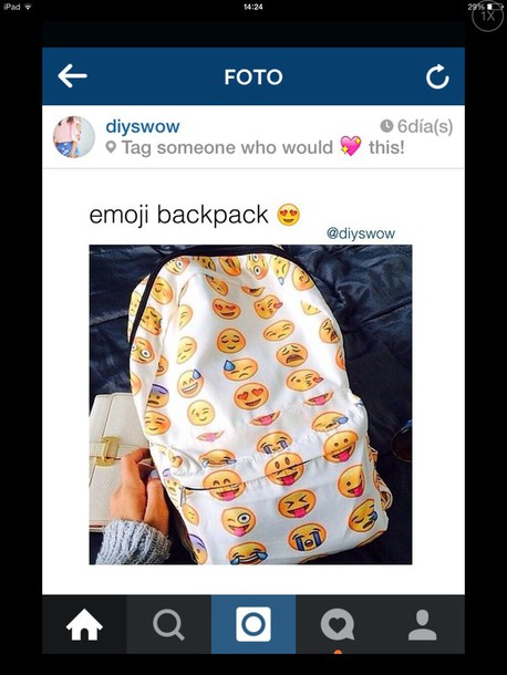 bag emoji print emoji print emoji print backpack emojis backpack emoji print instagram back to school school bag