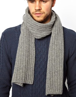 ASOS | ASOS Scarf in 100% Lambswool at ASOS