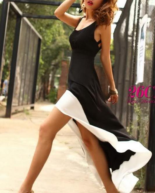Cute irregualr sexy dress for girls