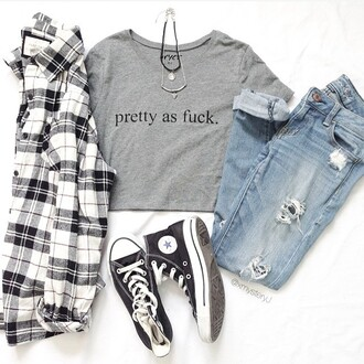 top graphic tee crop tops nyct clothing pretty as fuck ootd ootd top cute spring fashion spring outfits cropped