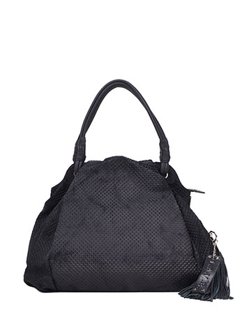 Dai Suede Textured Hobo