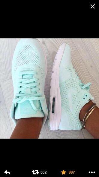 shoes air max tiffany blue nikes