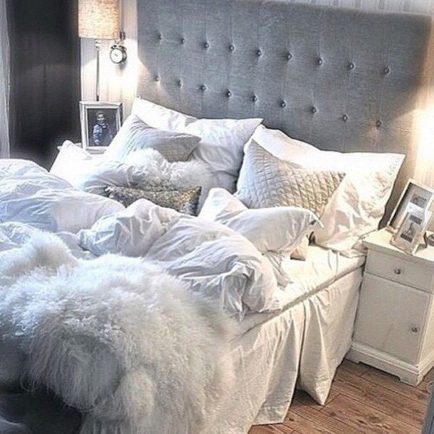Home accessory bedding tumblr bedroom bedroom the for Grey and white bedroom designs