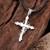 925 Sterling Silver Gothic Vintage Cross Men's Pendant - Zivpin