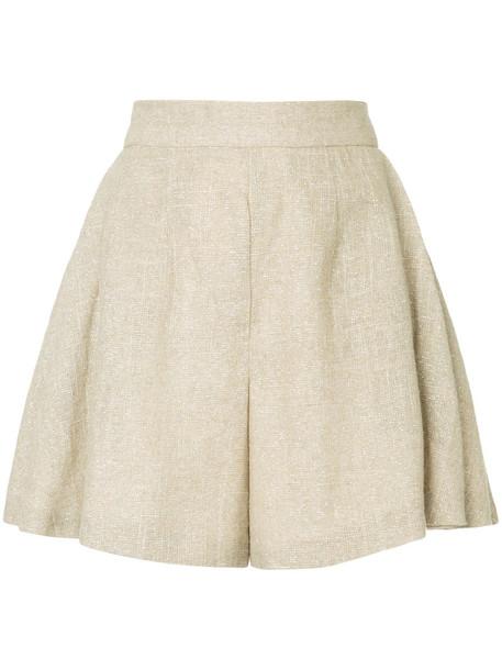 Bambah shorts sparkle women brown