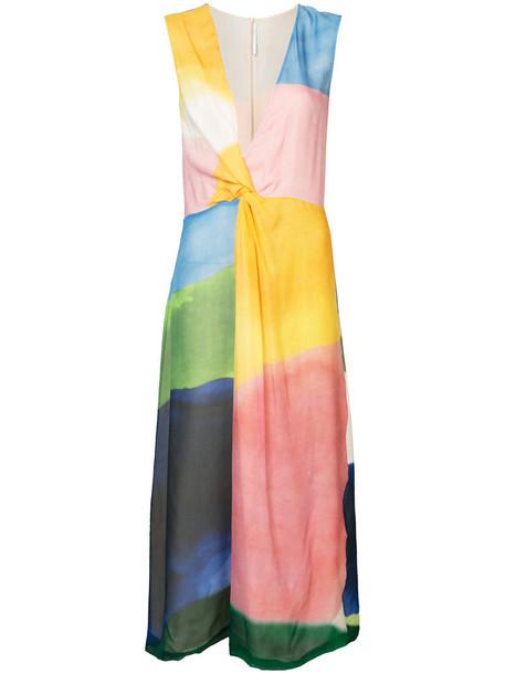 Rosetta Getty dress midi dress women midi silk