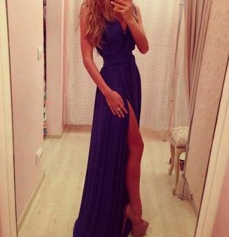 dress prom dress purple dress long prom dress beautiful long dress