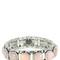 Lakota rose agate stretch bracelet