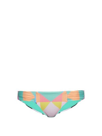 bikini print swimwear