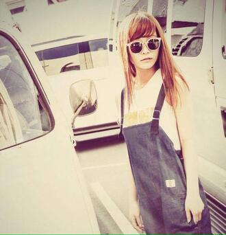jumpsuit overalls x style straps on back rina suzuki scandal